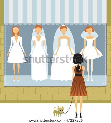 Wedding dress salon