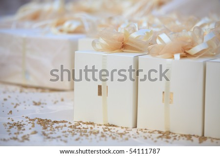 Wedding favors packages
