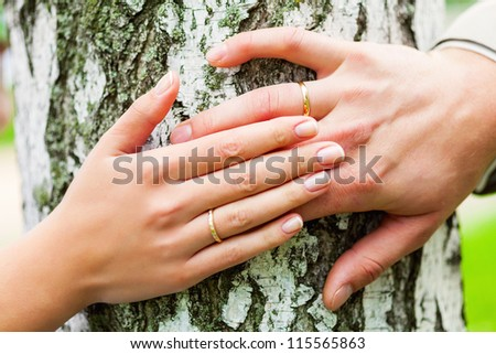 Wedding in the forest
