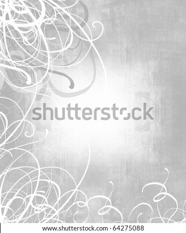 stock photo wedding invitation with floral patterns