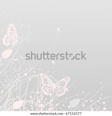 stock photo wedding invitation with floral patterns or greeting card