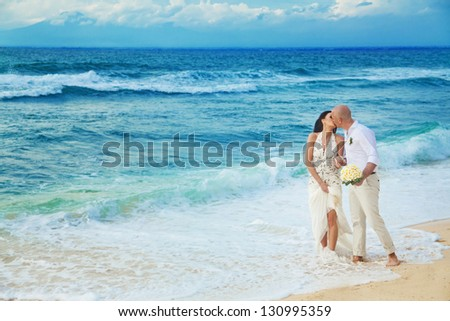 Wedding on the beach - bali