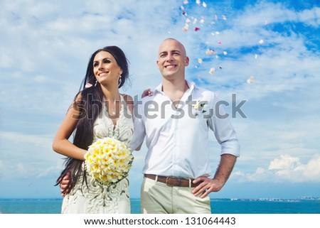 Wedding on the beach - bali