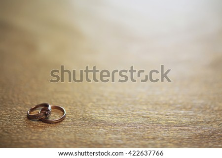 wedding ring background...
