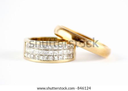 Wedding Ring Band With Diamonds