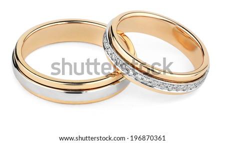 wedding rings Stock photo ©