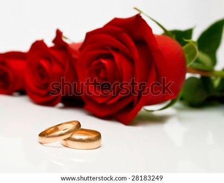 red and white roses background. and red roses on white