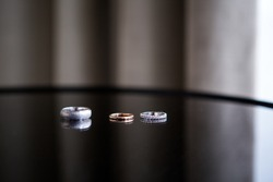 Wedding rings custom made pieces of jewelry