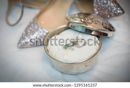 wedding rings, jewelry #1295161237