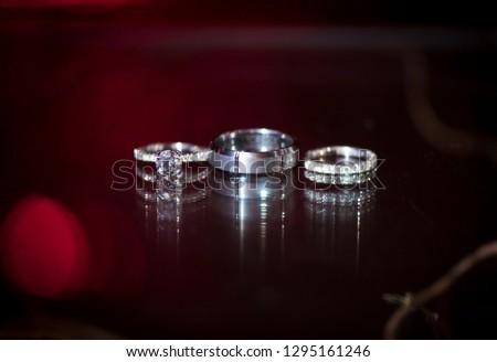 wedding rings, jewelry #1295161246