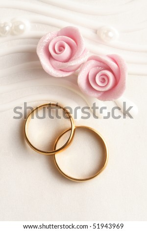 stock photo wedding rings wedding invitation