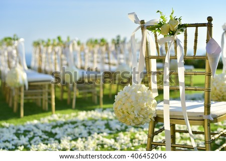 Wedding Set up #406452046