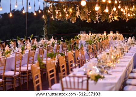 Wedding Setup #512157103