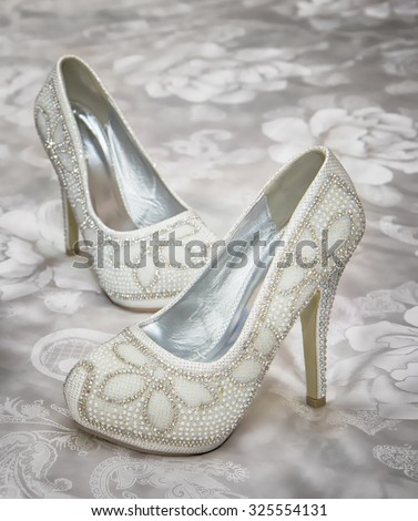 Wedding shoes. #325554131