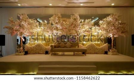 Wedding Stage Decoration  #1158462622