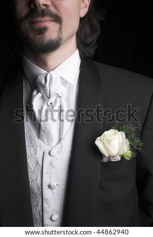 stock photo Wedding suit groom wear