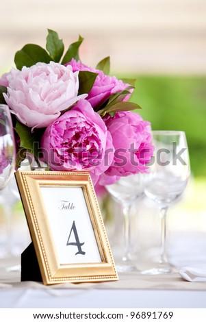 Wedding Table Decoration - Series