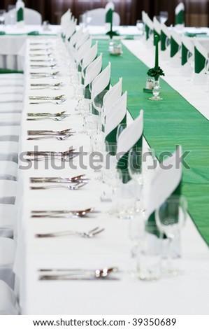 stock photo wedding table settings