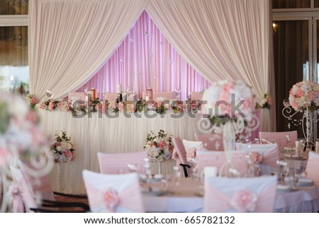 Shutterstock wedding table settings