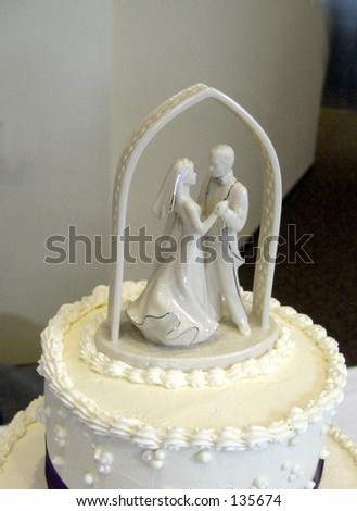 stock photo Wedding Topper