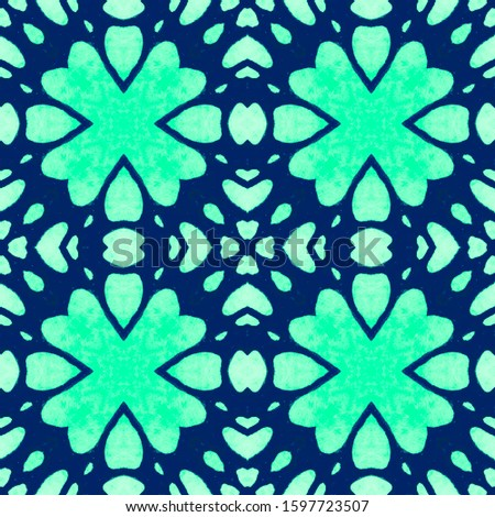 Wedding vintage lace seamless. Ornamental Geometry. Ornamental Geometry. Blue Mint Tile Decoration print. Asian Ornament. DIY effect art. Kaleidoscope Effect. Floral Pattern. Floral Elements