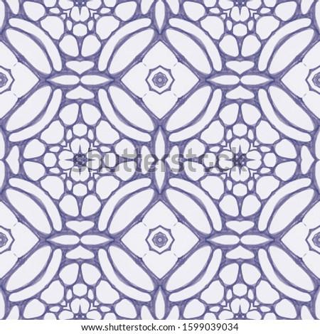 Wedding vintage lace seamless. Ornamental Geometry. Ornamental Geometry. Indigo Blue Oriental style. Antique Element Hand Painted Kaleidoscope Art. Floral Design. Floral Design.