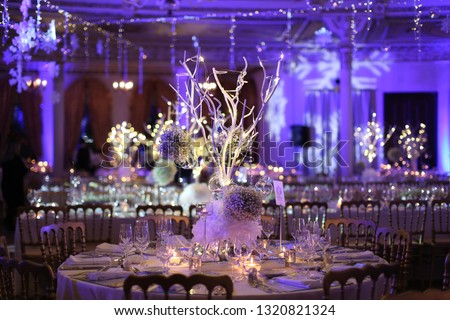 wedding winter decorations