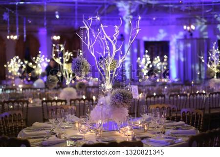 wedding winter decorations
