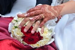 weddinge morocco.White Bridal details