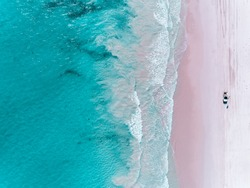 Wedge Isalnd Beach, Western Australia, Aerial Photography by a drone