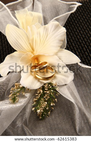 weeding ring - stock photo
