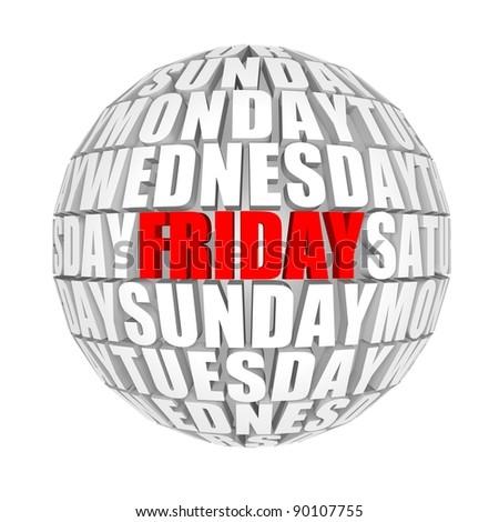 Weekday circulation
