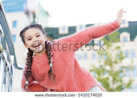 Weekend events for kids. Entertainment for children. Leisure fun ideas. Event overview. Leisure options. Free time and leisure. Girl urban background. Activities for teenagers. Vacation and leisure.