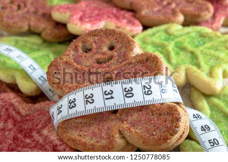 Weight and health issues after the Christmas season. People usually indulge in sweet foods during the season which may mean an increase in their weight