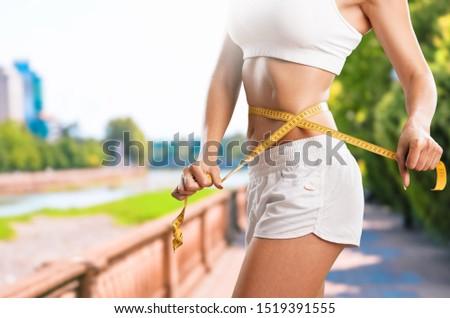Weight loss slim slimming tape flat thin #1519391555