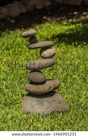 weird rocks but perfect balance
