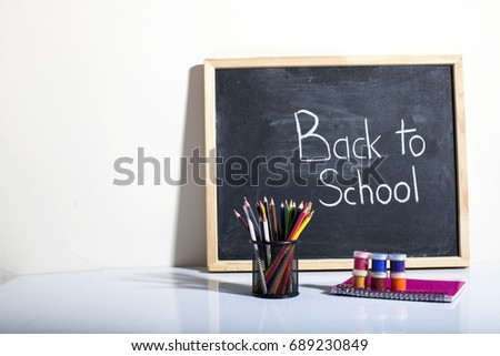 Welcome Back to School  #689230849