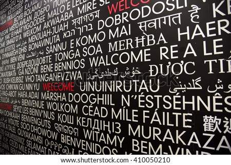 how to say welcome in many languages