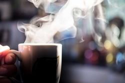 Welcome the morning with a cup of hot coffee.