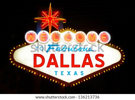Welcome to Dallas, Texas (USA)
