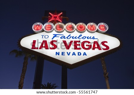 welcome to fabulous las vegas...