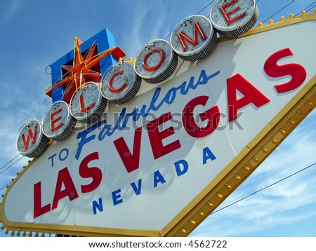 las vegas nevada sign. Las Vegas Nevada sign at