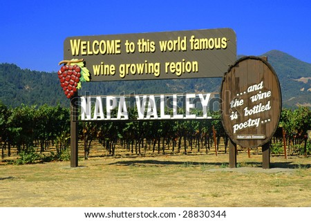 Welcome to Napa Valley California
