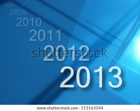 Welcome to new year 2013