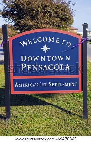 Welcome to Pensacola, Florida