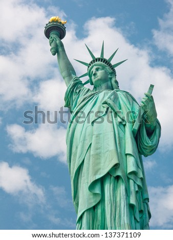 Welcome to the United States - The Statue of Liberty in New York