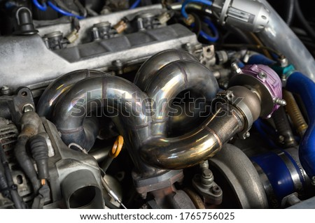 Photo of  Welding fabrication Stainless Steel Turbo and Wastegate Manifold ,Exhaust Manifolds For Racing Car.