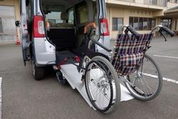 Welfare vehicles and wheelchair