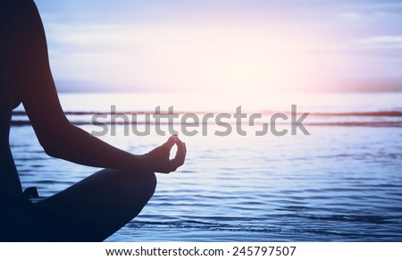 well being concept, yoga background #245797507