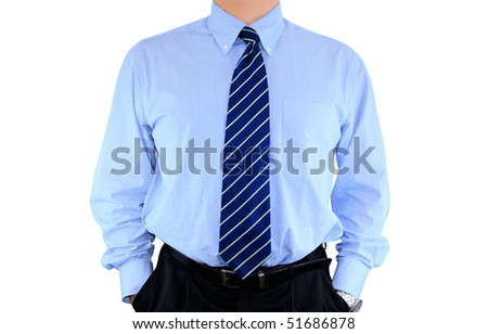Well-dressed businessman